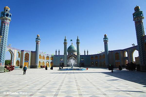 Alberto Maio: viaggiare per turismo in Iran