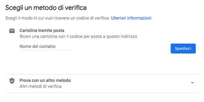 Giovanna Malfiori e Gianluca Vecchi: come registrarsi a Google My Business nascondendo il proprio indirizzo